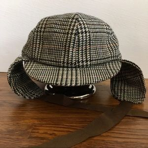 55c1ed02645 Accessories - Men s Sherlock Holmes deerstalker tweed hat L